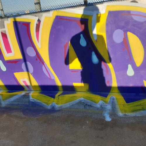 grafitti art in