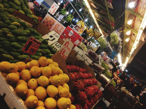 Fruits Market Food Market Stall Food And Drink Fruit Freshness For Sale Retail  Abundance Healthy Eating Night Large Group Of Objects No People Price Tag Outdoors City Variation