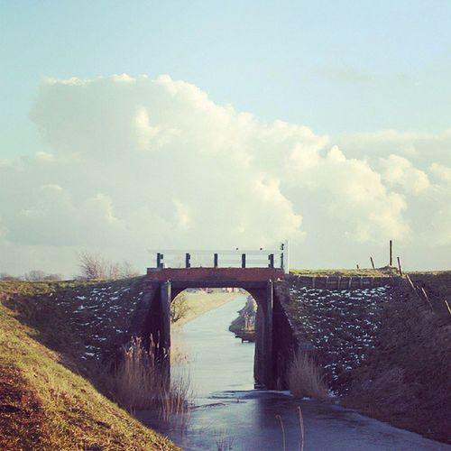 Mooie stukje Hoge Laand ien Grunn... Noordpolderzijl Groningen Netherlands Northsea