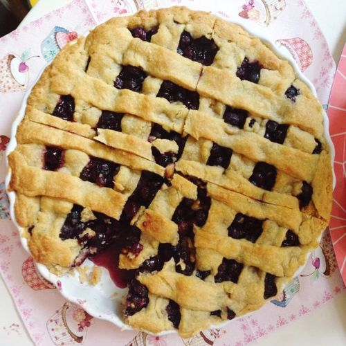 Blueberry Pie Kuchen