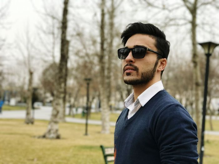 iran-mashhad Model Modeling Male Handsome Persian Boy Persian EyeEm Selects Eyeglasses  Men Beard Tree Eyewear Standing Businessman Fashion Suave
