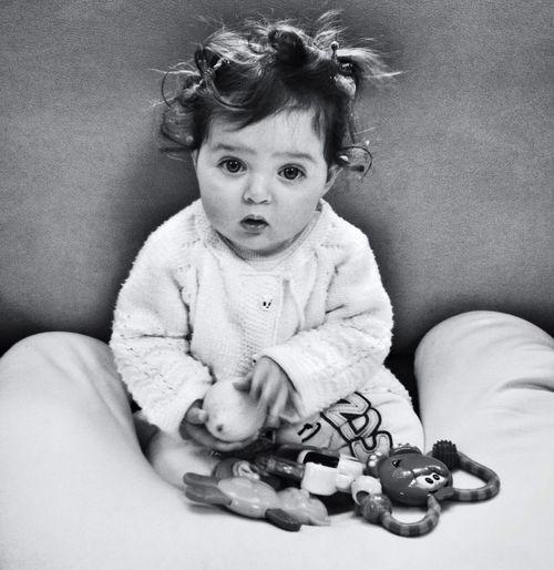 Blackandwhite Baby Eye4photography  BabyTime Now...