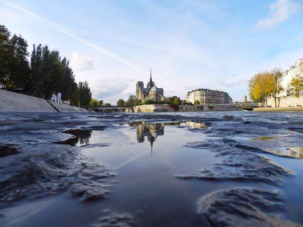 Discover Your City Paris Reflection Notre Dame De Paris