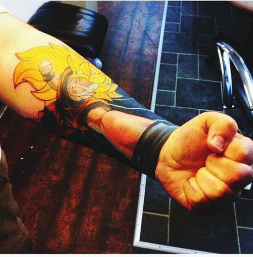 TattooLove DBZ Goku Painthatsworth