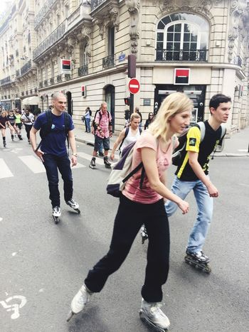 En Route Rollerblading Streetphotography Action Walking Around The Street Photographer - 2015 EyeEm Awards The Action Photographer - 2015 EyeEm Awards