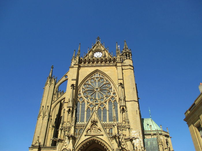 France Metz, France Architecture Building Exterior Built Structure Kathedral Metz Kathedrale Religion Spirituality
