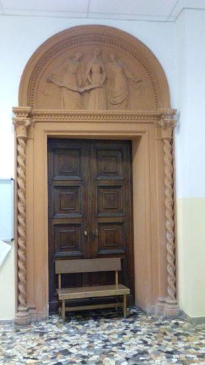 Architecture Built Structure Closed Door Porta Noce Portale Portale In Cotto Terracotta