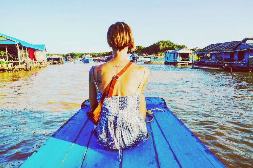 Rear View Water Real People One Person Nautical Vessel Women An Eye For Travel