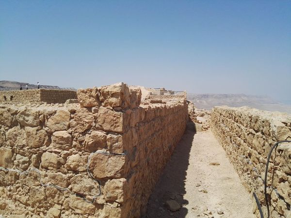 Israelinstagram Historical Israel Hillside Smartphone Photography Hills And Valleys Dead Sea  Dead Sea View Seascape Masada Fortress Of Stone Roman Empire Roman Ruins