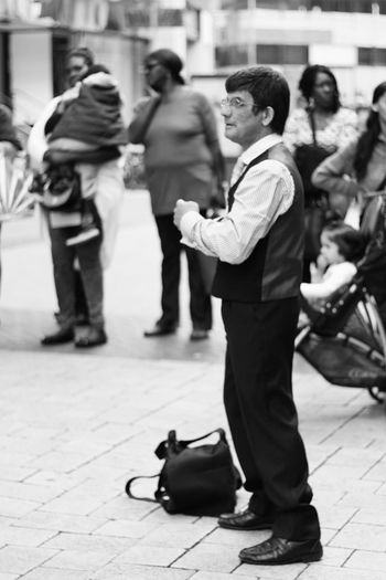Street Photography Dancing Black And White Bw Streetphotography