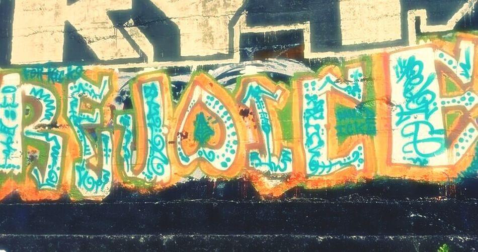 Graffiti Art Graffitiporn Rejoice Summertime Underthebridge EyeEm Gallery Nature