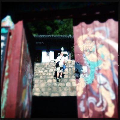Temple, Baeksil Valley, Buam-dong, Seoul #Hipstamatic #Oggl #Tinto1884 #DC Hipstamatic DC Tinto1884 Oggl