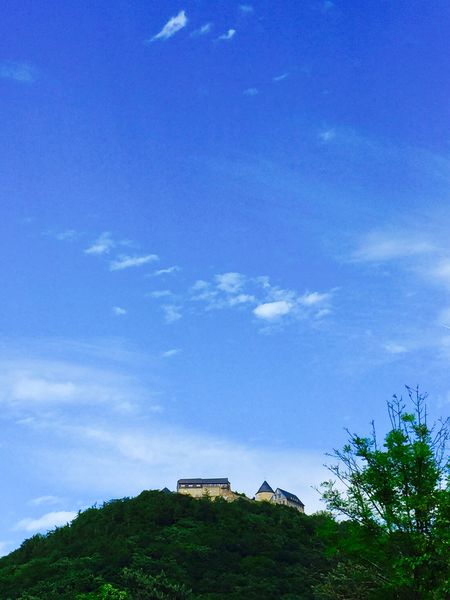 Sky Cloud - Sky Day Blue No People castle Outdoors Architecture Nature Built Structure Tree Scenics Building Exterior Beauty In Nature