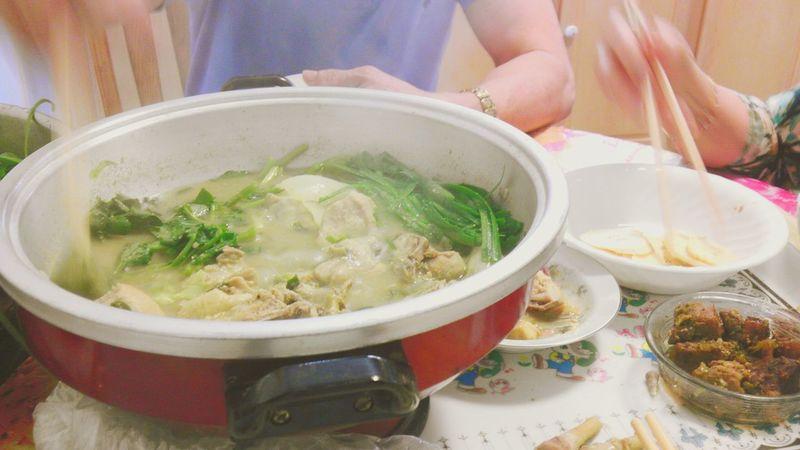 Blurred Motion Blur Eating Food Asian  Hotpot Dinner Hotpot Chopsticks Oriental Food