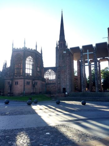 Cathedral Coventry Cathedral - UK Church World War 2 Ruins Ruins Ruins Architecture