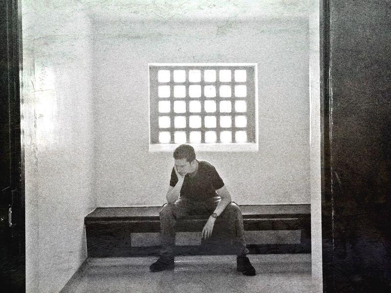 Doing Time Black And White Black & White Jail Prison Prisoner