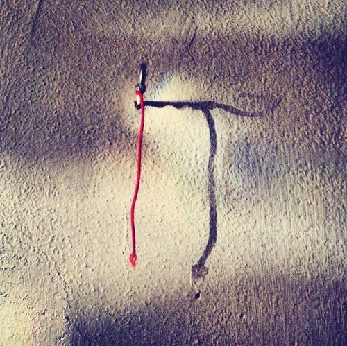 Life Is Memory Hanging Out Red Shadows