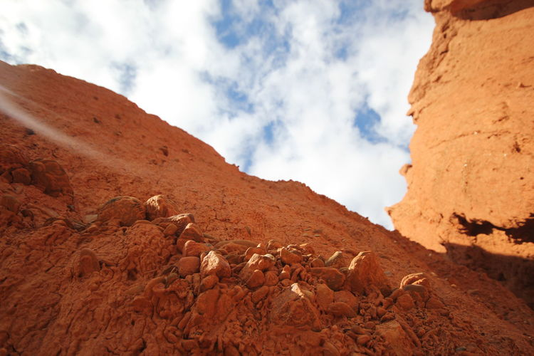Redbanks Conservation Park Red Earth Landscape Red Earth County South Australia Beauty In Nature Nature Cloud - Sky