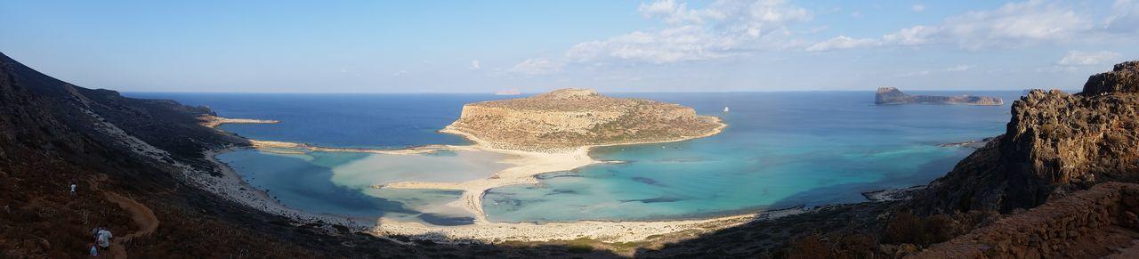 Reflection Sea Sky Nature Beauty In Nature Landscape Commercial Backgrounds Balos Balos Lagoon Balos Beach On Crete Balos❤️