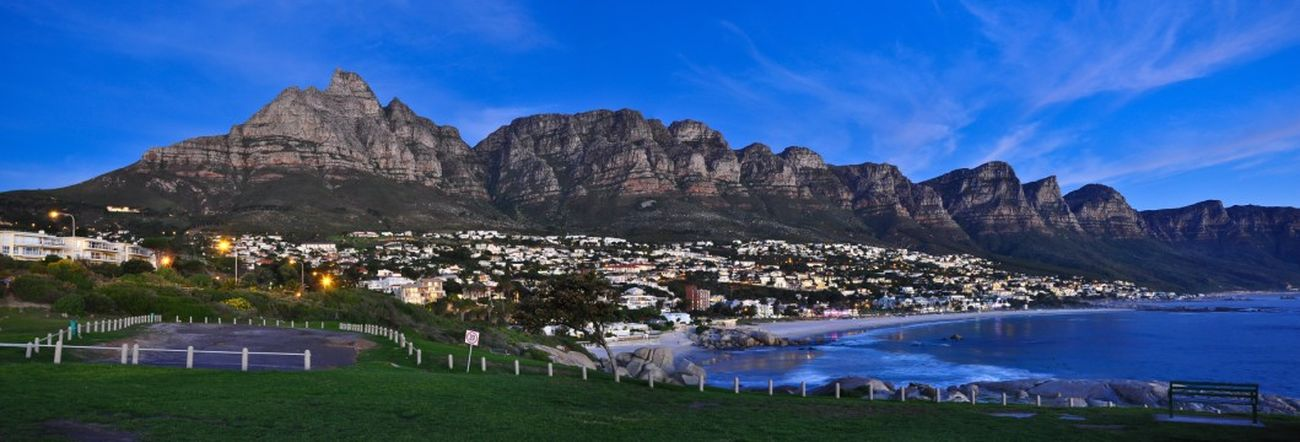 Camps Bay Capetown Scenicview Nightscene Photography