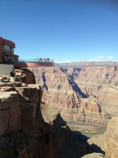 Skywalk Grand Canyon Arizona Traveling Beautiful Nature Beautiful Place Landscape EyeEm Nature Lover Nature USA Explore The World