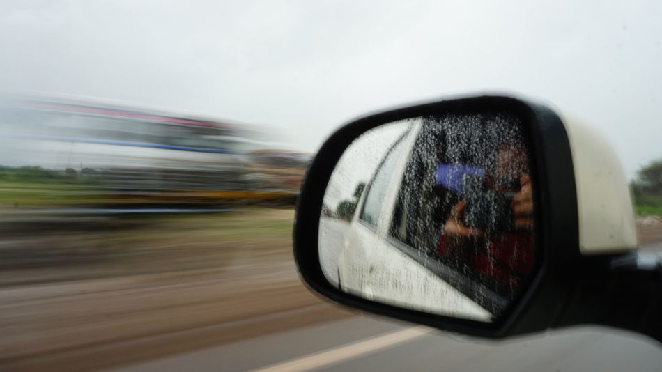 Shutter Speed Photography Car Blurred Motion Speed Driving Motion Mode Of Transport Outdoors Technology Day Adult People One Person Sky SonyAlpha6000 Nwin Photography Sony A6000 Shutter Priority  Photography On The Go