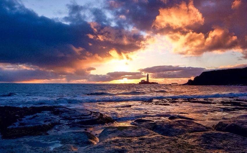 Sunrise Whitley Bay Stmarys Lighthouse Photography