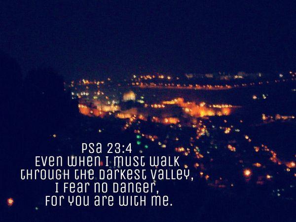 Text Night PraiseGod Psalms 23 Fear