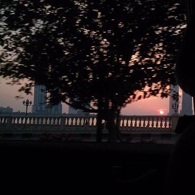 Sun set. At sharjahUAE Shj الشارقة الإمارات غروب،الشمسsunset