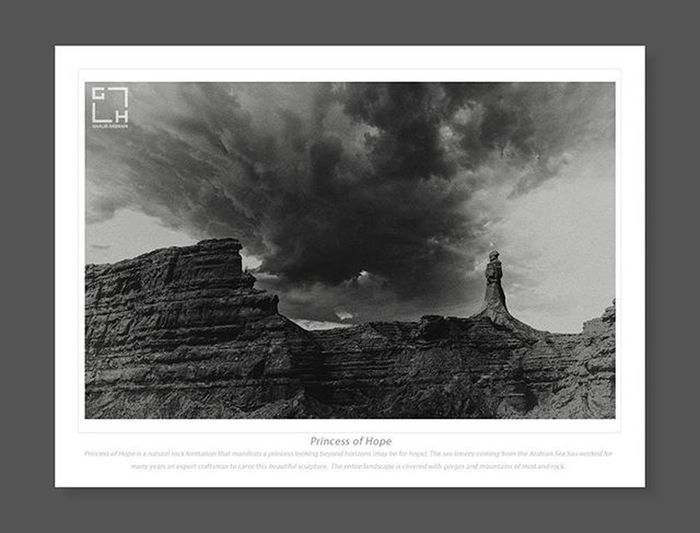 Princess of Hope , Kund Malir - Makran Coast Highway Gawadar Makran Coastalhighway Kundmalir Ghalibhasnain Ghalib Hasnain Photography & Films Bnw Hope Princess Balochistan Pakistan Beautifulpakistan Dawndotcom Expresstribune Amazingpakistan