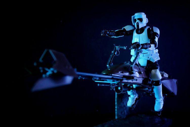 Scout trooper on duty tonight Scouttrooper Returnofthejedi Starwars TheEmpire StarWarsCollection Starwarstoys
