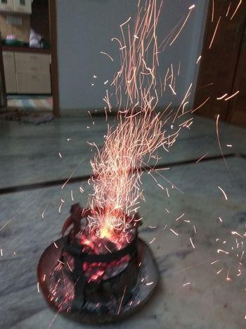 full fire flame