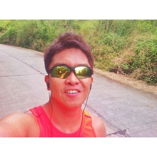 Just finished a solid 7km uphill run. UpHellWrathNoFury Yurbuds Adidasrunning