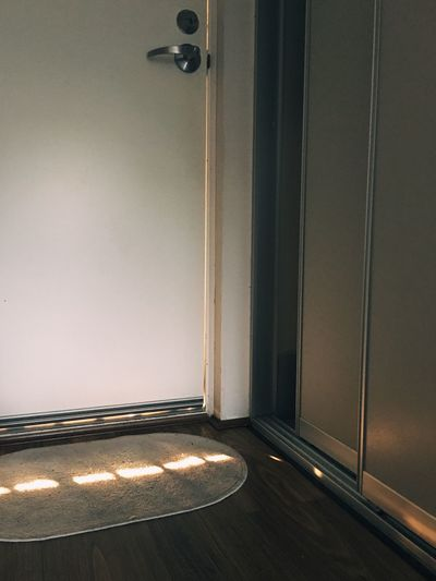 Light And Shadow Light And Shadow Indoors  No People Wall - Building Feature Entrance Home Interior Door