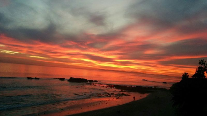 Sunset California Wintertime