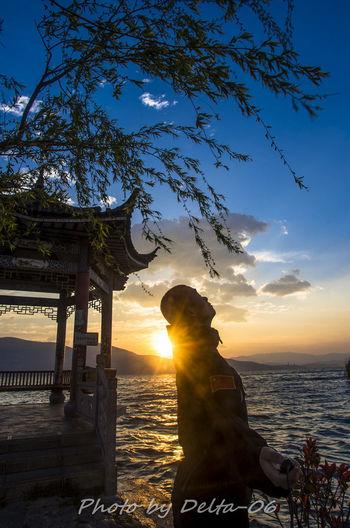 Self Portrait Around The World Selfie ✌ Sunrise Pentax Pentax K5ll