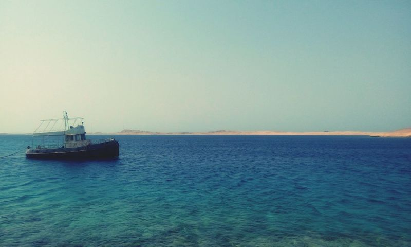 Sea Nautical Vessel Water Business Finance And Industry Day Outdoors Ship Horizon Over Water Blue Tranquility No People Transportation Oil Industry Nature Beach Sky Scenics Lighthouse Sailing Offshore Platform The Week On EyeEm EyeEmNewHere at Ras Mohamed Egypt