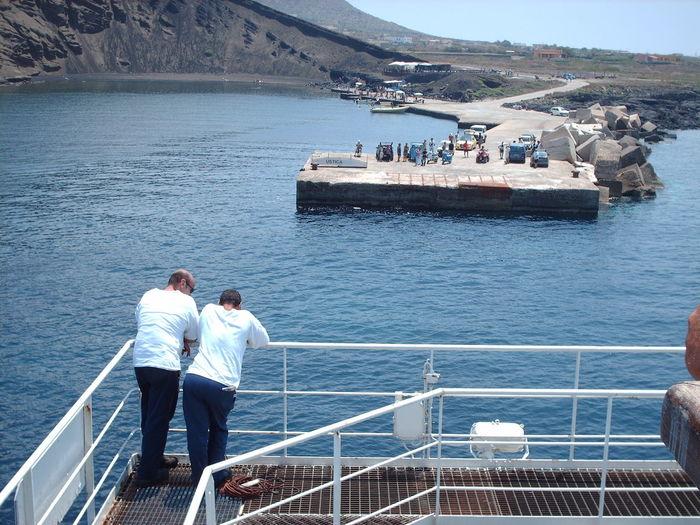 Linosa Beauty In Nature Cruise Ship Nautical Vessel Sailing Sea Vacations Water
