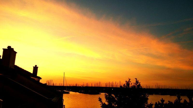 *-* Sunset Sonnenuntergang Schönes Wetter Natur Nature Netherlands Holland