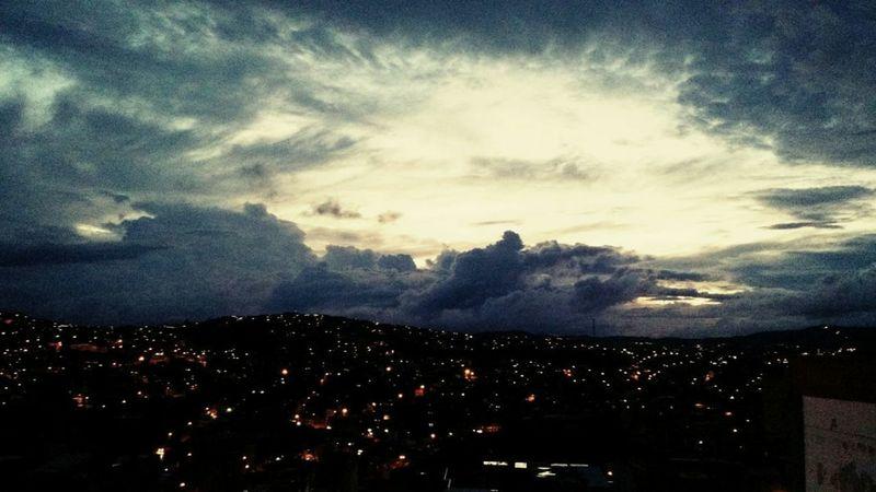 No Filter Dramatic Sky Night City the sky
