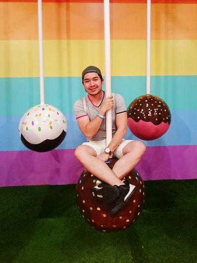 Sweet Cravings Lollipop Sweet Food Sweet Rainbow Colors Pride Love Sweet Moments Pool Ball Athlete Gym Sports Clothing Sport Exercising