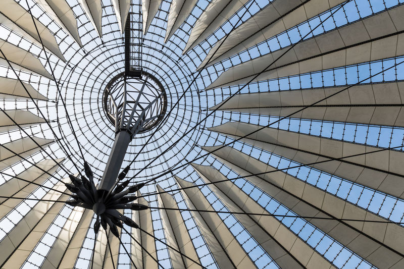 Architectural Design Architecture Berlin Berlin Photography Building Exterior Built Structure Ceiling Daytime Low Angle View Modern No People Outdoors Pattern Streetphotography