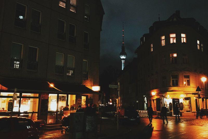 walking around Berlin Mitte