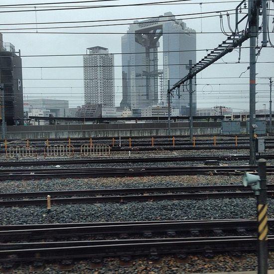 A rain start. . I hate it (´・Д・)」 Sky OSAKA Kansai そら 空雲cloudrain雨