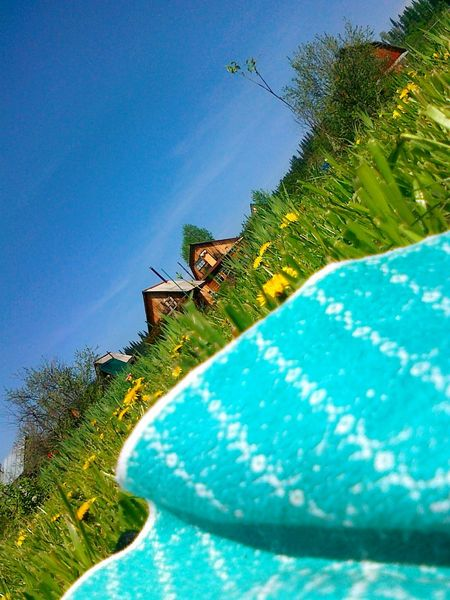 Countryside Enjoying Life Country Houses Grass And Flowers My Point Of View