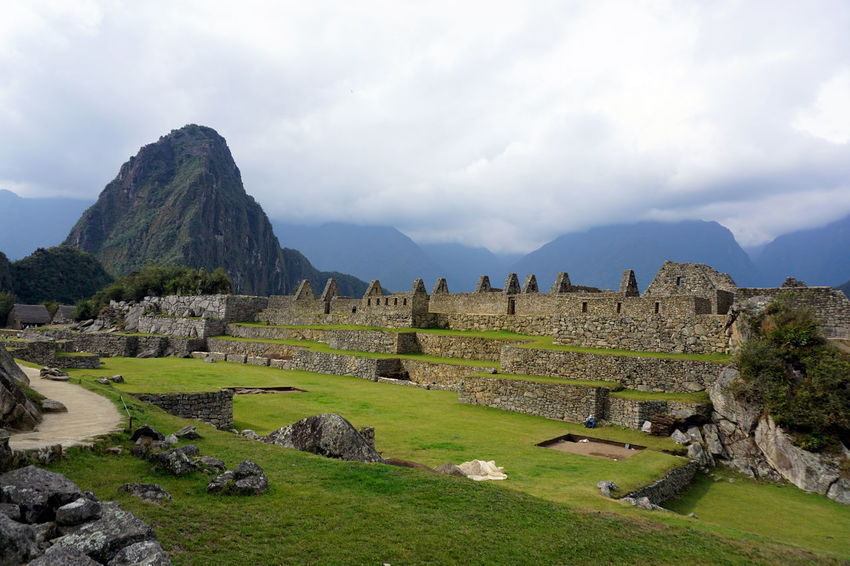 Ancient Ancient Civilization Archaeology Architecture Beauty In Nature Building Exterior Built Structure Cloud - Sky Day History Inca Macchu Picchu Mountain Nature No People Old Ruin Outdoors Scenics Sky The Past Travel Destinations Tree