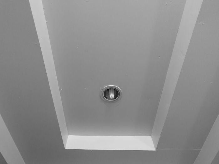 Interior Design Drain Indoors  No People Day Close-up Brushed Metal