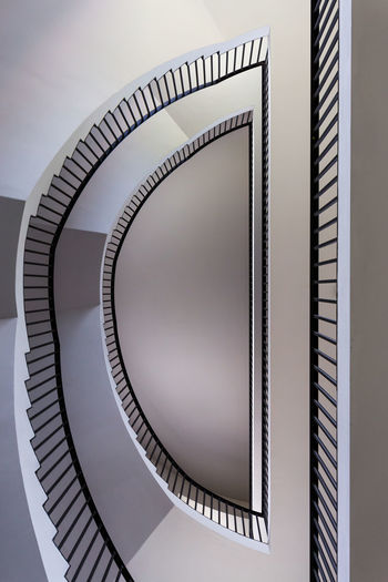 Half a Staircase Architecture Close-up Day Design Indoors  No People Pattern Railing Spiral Spiral Staircase Staircase Steps Steps And Staircases
