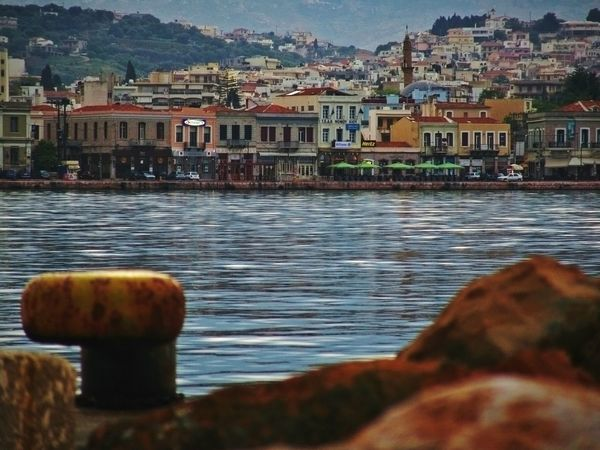 Here Belongs To Me My City Where I Live Port View Port Life From My Point Of View Water Reflections City View  City Life Cityscape Colorful Street Colors Street Color Photography Taking Photos Low Angle View Low Angle Shot - Greek Islands Chios Chios Greece Port Of Chios Greece