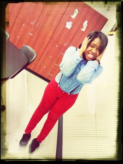 Me today at School :)